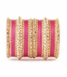 Buy Traditional Pink kundan Work for both hands fashion-deal online