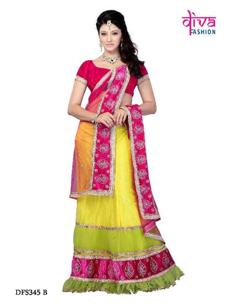 Buy Wedding Wear Designer Lehenga Choli Diwali Gifts Online Kemeja Lavender Contrast Multicolor Shop At Velvet