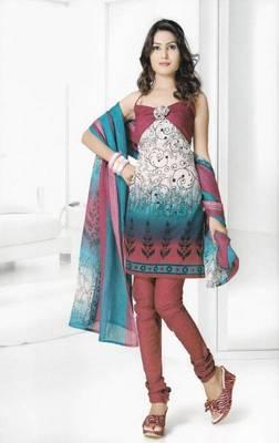 Dress Material Cotton Designer Prints Unstitched Salwar Kameez Suit D.No B10005