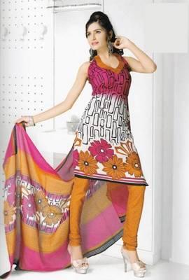 Dress Material Cotton Designer Prints Unstitched Salwar Kameez Suit D.No B10010