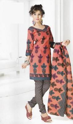 Dress Material Cotton Designer Prints Unstitched Salwar Kameez Suit D.No B10011