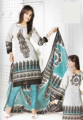 Dress Material Cotton Designer Prints Unstitched Salwar Kameez Suit D.No B10012