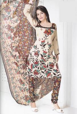 Dress material cotton designer prints unstitched salwar kameez suit d.no B10018