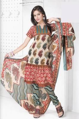 Dress material cotton designer prints unstitched salwar kameez suit d.no B10020