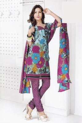 Dress material cotton designer prints unstitched salwar kameez suit d.no B10024