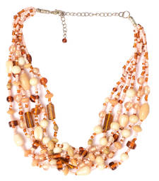 Buy Daisy And Ivory Color Handmade Artificial Jewellery With Metal Thread And Beads party-jewellery online