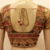 Golden handwork blouse