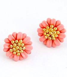 Daisy Gold Plated Stud Earrings