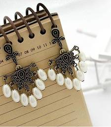 Buy Retro Sweet Pearl Tassels Earrings(CFE0001) gifts-for-her online
