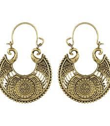 Gold Hoop Elegant Bali Hoop   earrings