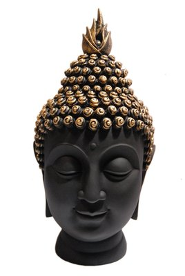 India Polyresine Buddha Head Showpiece