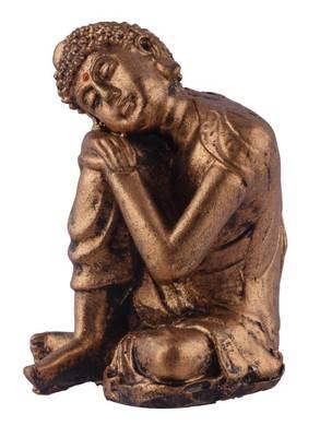 India Vishram Buddha Idol (Gold)