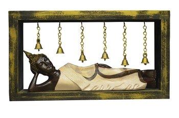 India Sleeping Buddha with Bells Showpiece