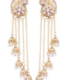 Buy Gold diamond earrings fashion-deal online
