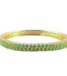 American Diamond Bangle Set For Women
