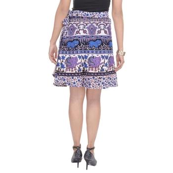 Multicolor printed Cotton Rajasthani skirts
