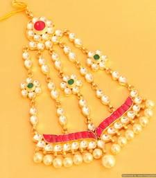 Multicolour Kundan & Pearl Beautiful Bridal Passa