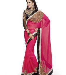 Buy Designer Embroidered Sarees - Women's Ethnic Wear designer-embroidered-saree online