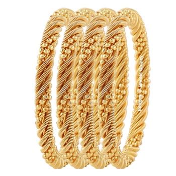Gold zircon   bangles-and-bracelets