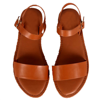 Choco Brown flat Sandal