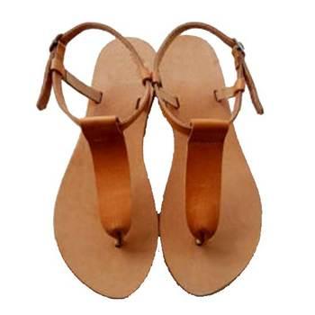 Beige n Brown Sandal