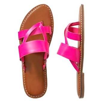 Pretty Pink Double belt Flipflop