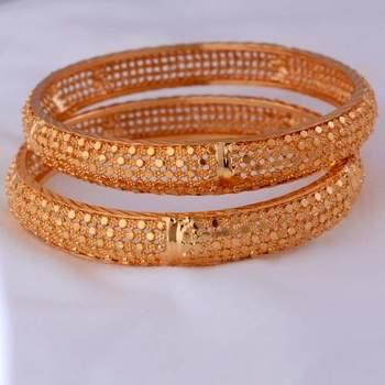 Golden bangles #42