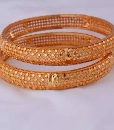 Buy Gold agate bangles bangles-and-bracelet online