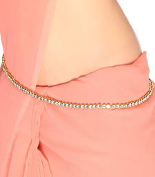 Exclusive Diamond Studed Chained Waist Chain / Kandora