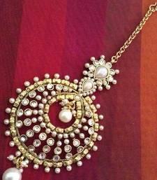 Ethnic Indian Bollywood Fashion Jewelry Festive Maang tikka