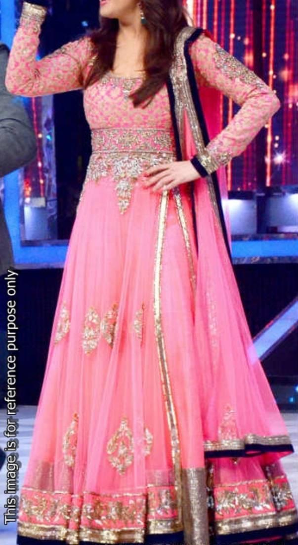 Buy Madhuri Pink Anarkali Dress Online
