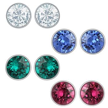 Blue swarovski crystal jewellery-combo