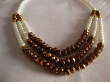 White Copper Necklace