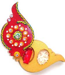 Buy Designer Holder Kankavati for Kumkum and Chawal for Pooja other-home-accessory online