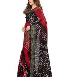 Buy Black woven art silk saree with blouse navratri-sarees-nine-day online