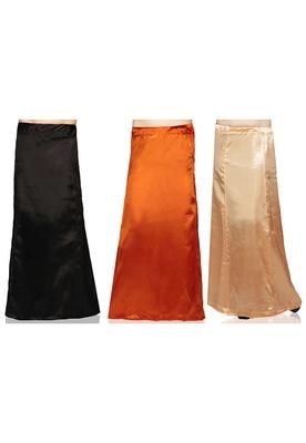 Muticolor Satin Petticoat
