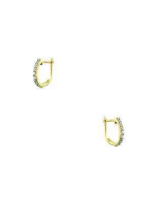 Clear CZ AD American Diamond Dangle Earrings Jewellery for Women - Orniza