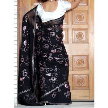 Sitara Work Saree