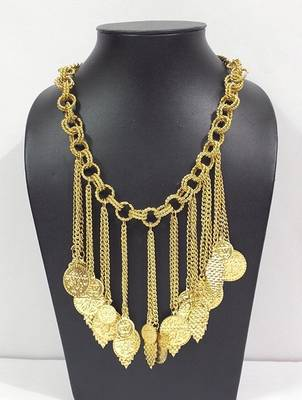 Antique Metallic Necklace