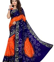 Buy Multicolor hand woven cotton silk saree with blouse navratri-sarees-nine-day online