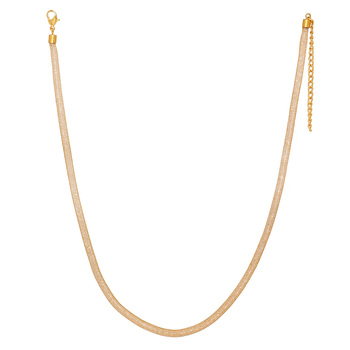 Gold Plated Gold Color Alloy Necklace Jewellery