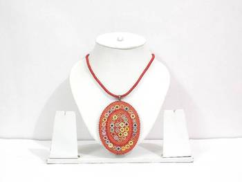 Red Antique Design Pendent