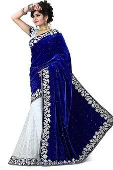 673a253d89 Velvet Sarees Online | Buy Velvet Sarees Online | Velvet Blouse ...