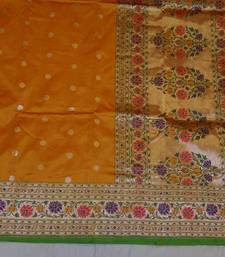 Buy FZ 1010  Saree handloom pure silk. banarasi-silk-saree online