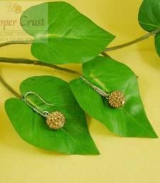 Buy shamballa hoop earrings  hoop online
