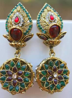 Polki Kalash Earring