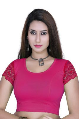 Rani solid  stretch stitched blouse