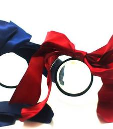 Buy Red And Blue Ribbon Bow Band  hair-accessory online