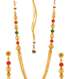 Buy gold_plated Multicolor necklace-sets necklace-set online