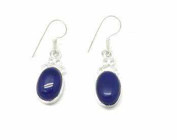 Blue Stone Danglers Drops